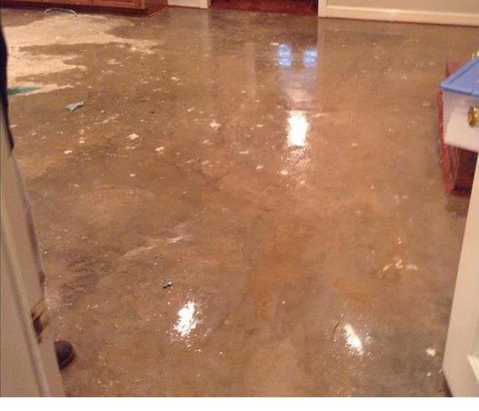 Water Damage While Away Before